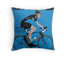 Chris Froome Throw Pillow