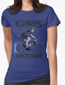 Chris Froome Womens Fitted T-Shirt