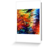 modern composition 14 by rafi talby Greeting Card