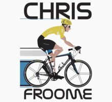 Chris Froome Yellow Jersey Kids Tee