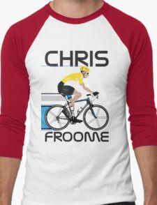 Chris Froome Yellow Jersey Men's Baseball ¾ T-Shirt