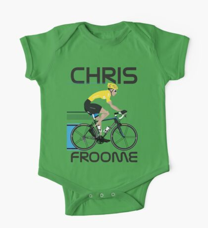 Chris Froome Yellow Jersey Kids Clothes