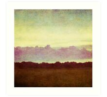 horizon horizon Art Print