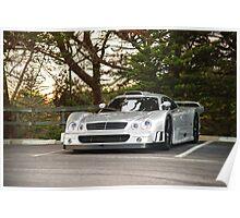 Mercedes-Benz CLK GTR Super Sport Poster