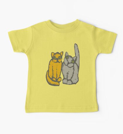 Cats couple - pets, cats, kittens, rescue,  Baby Tee