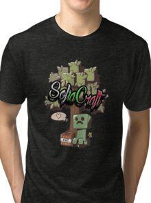 SofiaCraft Server TShirt Tri-blend T-Shirt