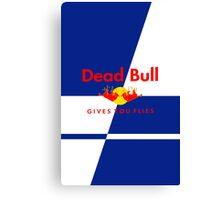 Dead Bull Canvas Print