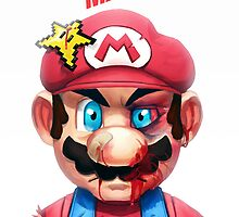 Beat Up Mario by MGrecke