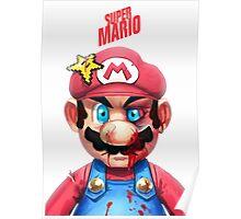 Beat Up Mario Poster