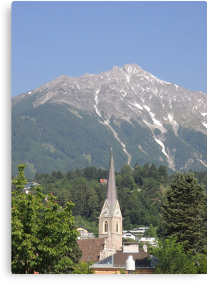 Reaching For The Top: Austria by CreativeEm