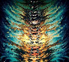 modern composition 15 by rafi talby by RAFI TALBY