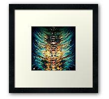 modern composition 15 by rafi talby Framed Print
