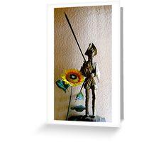 Don Quixote III Greeting Card