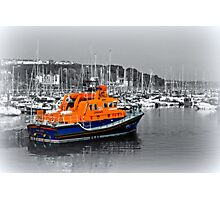 Brixham Lifeboat Photographic Print