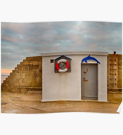 LOSSIEMOUTH HARBOUR OFFICE Poster