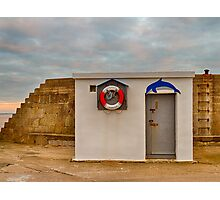 LOSSIEMOUTH HARBOUR OFFICE Photographic Print