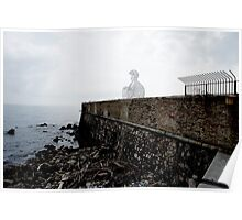 Antibes seafront Poster