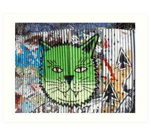 Brookyln Graffiti Art Print