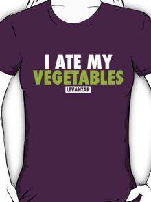 I Ate My Vegetables (White) T-Shirt