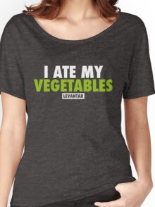 I Ate My Vegetables (White) Women's Relaxed Fit T-Shirt
