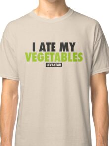 I Ate My Vegetables (Black) Classic T-Shirt