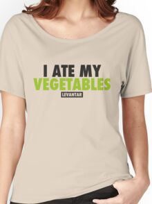 I Ate My Vegetables (Black) Women's Relaxed Fit T-Shirt