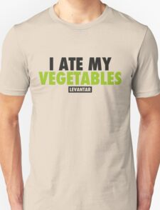 I Ate My Vegetables (Black) T-Shirt