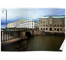 Gothenburg canal Poster