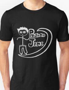 Pajama Jams Logo #1 - Eugene Style, White Version Unisex T-Shirt