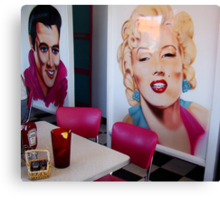 Elvis and Marilyn Canvas Print