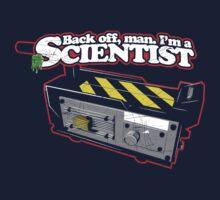 Back off, man. I'm a scientist. Kids Tee