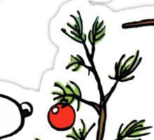 A Charlie Brown Christmas Sticker