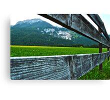 Mountains of Innsbruck Canvas Print
