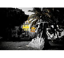 Square in Lisbon Photographic Print