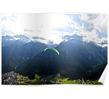 Paragliding 1 Poster