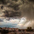 Albuquerque Rainstorm by Matthew Rubel