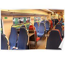Train seats Poster