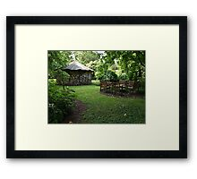 WoodStock. Framed Print