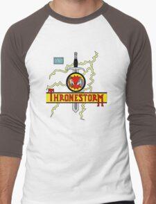 Thronestorm Men's Baseball ¾ T-Shirt