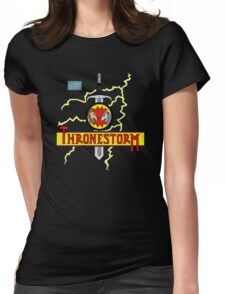 Thronestorm Womens Fitted T-Shirt