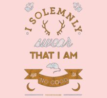 I solemnly swear that I am up to no good,Harry Potter One Piece - Short Sleeve