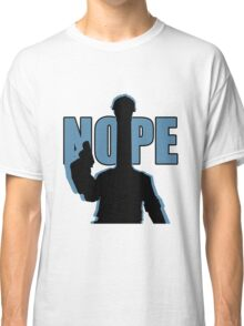 "BLU ""NOPE"" Engineer - Team Fortress 2 Classic T-Shirt"