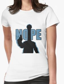 "BLU ""NOPE"" Engineer - Team Fortress 2 Womens Fitted T-Shirt"