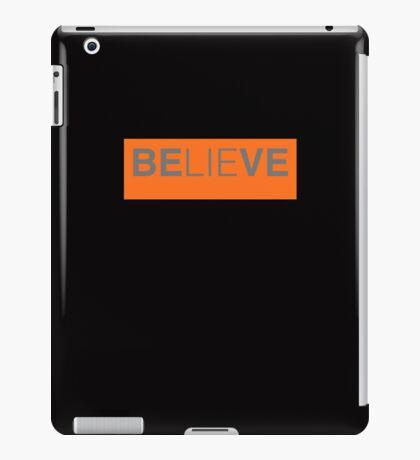 Black Believe iPad Case/Skin