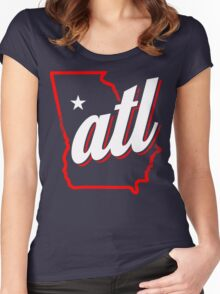 atl Women's Fitted Scoop T-Shirt