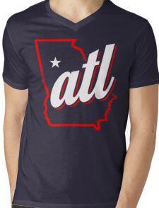 atl Mens V-Neck T-Shirt