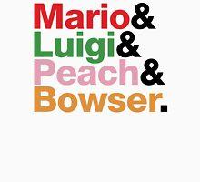 Mario.Luigi.Peach.Bowser. Unisex T-Shirt