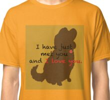 I love you- Dug Classic T-Shirt
