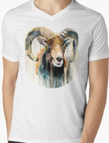 Ram Mens V-Neck T-Shirt