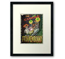 Frankenbunny Framed Print